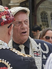 Visit to London to see the Pearly Kings & Queens in Guildhall 16/09/2018