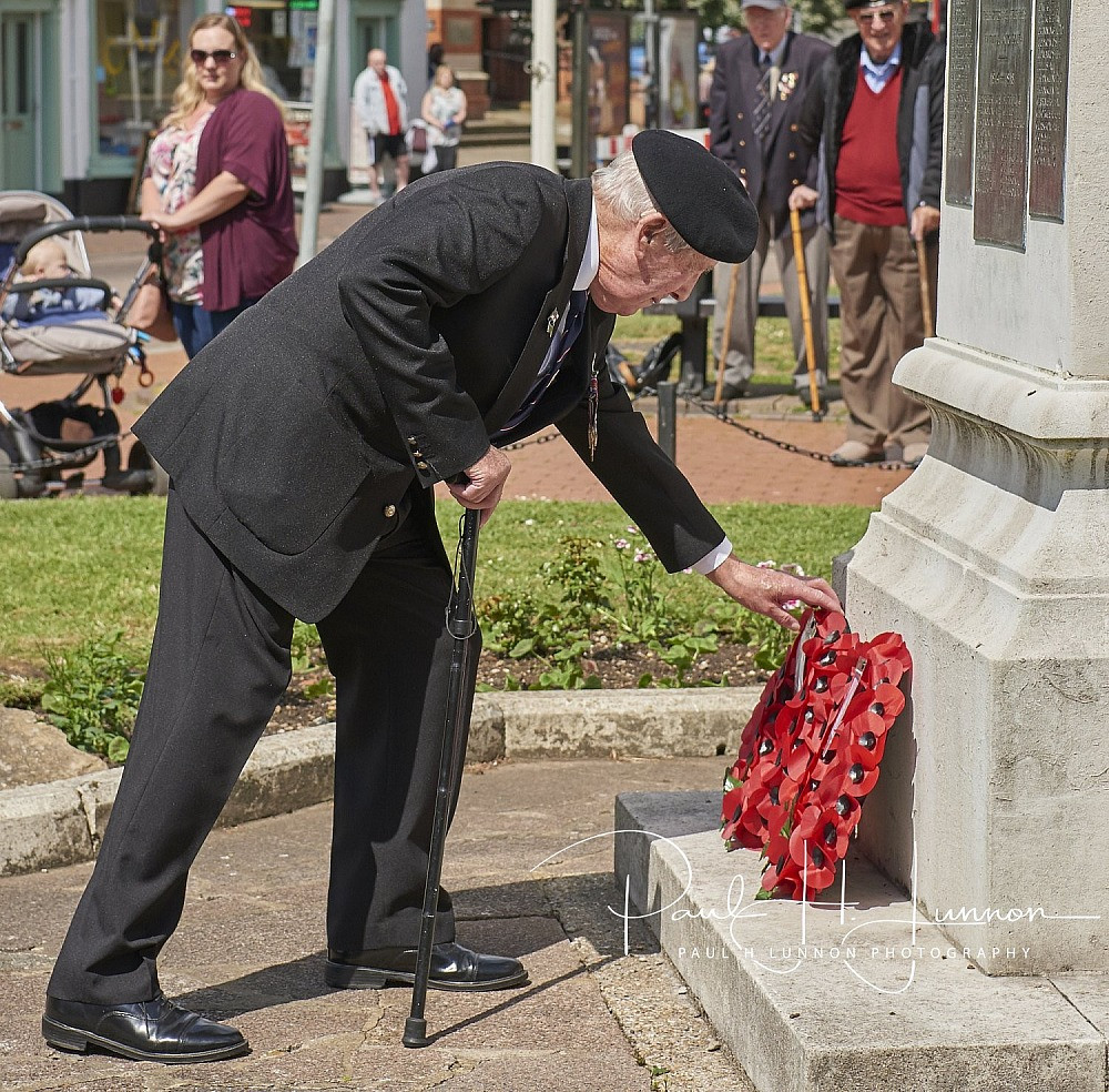 Chesham D Day service 6th June 2019