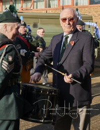 Remembrance day parade Flodden Road 10th November 2019