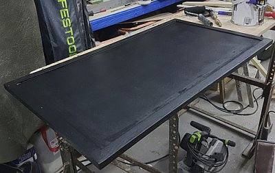 Painted matrix board